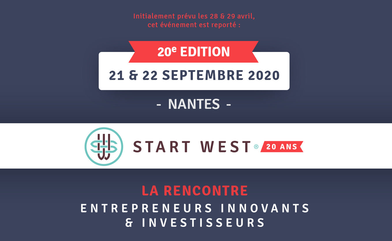 START-WEST 2020, reporté au mois de septembre !