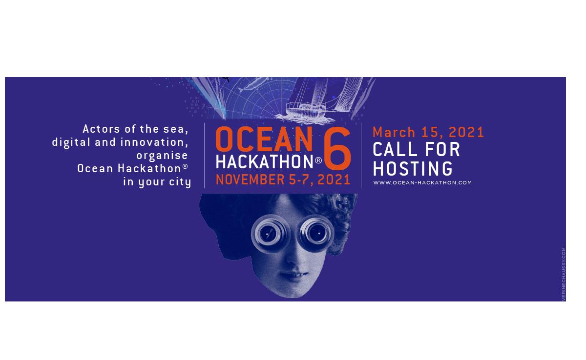 Ocean Hackathon®2021, Appel à candidature ouvert !