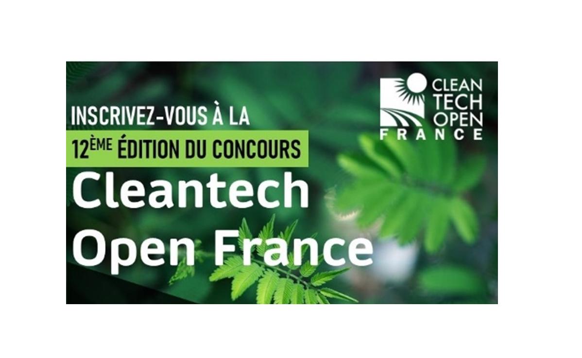 Lancement du concours Cleantech Open France 2021 !