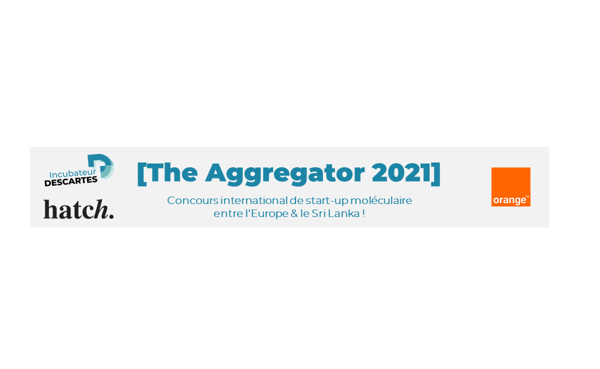 Ouverture du Concours International de start-up moléculaire de l'incubateur Descartes : The Aggregator !