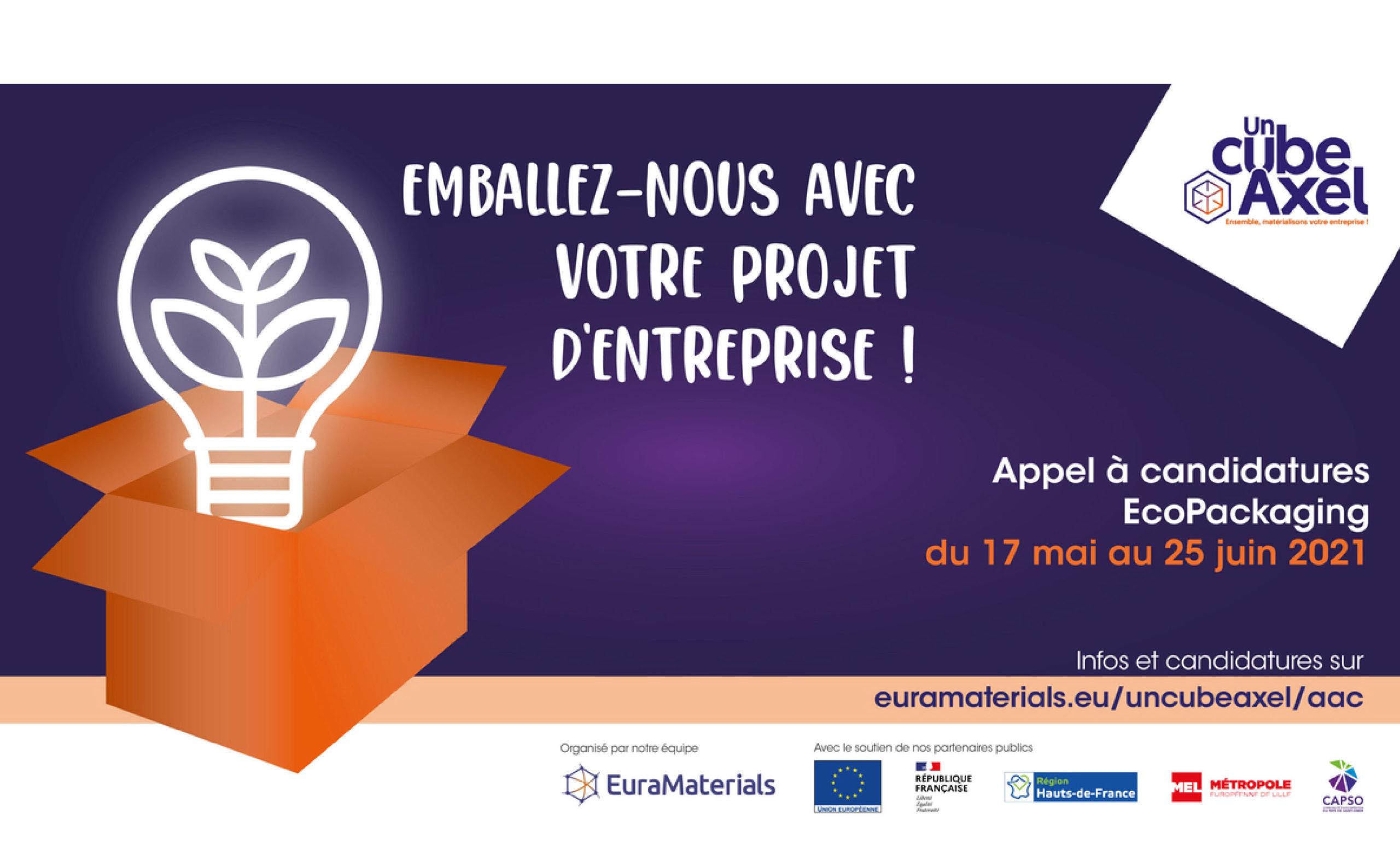EuraMaterials lance son appel à candidature EcoPackaging !