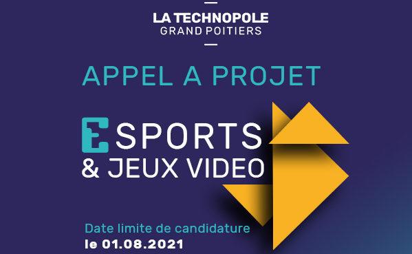 Nouvel appel à projet E-sports & Jeux vidéo par Technopole Grand Poitiers