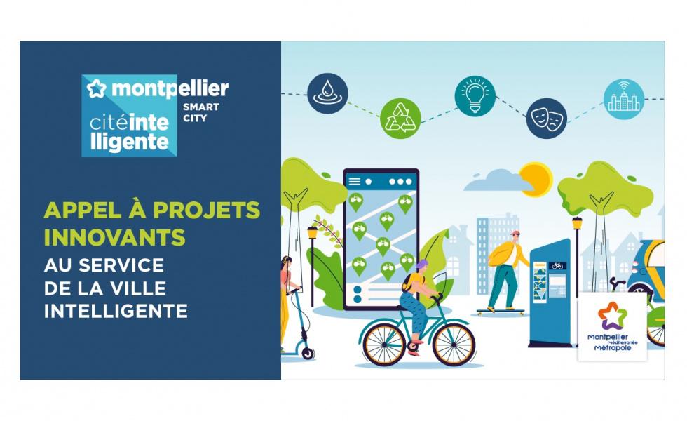 Montpellier Métropole lance son Appel à Projets «Cité Intelligente» – Jusqu'à 40K€ de financement pour une expérimentation !