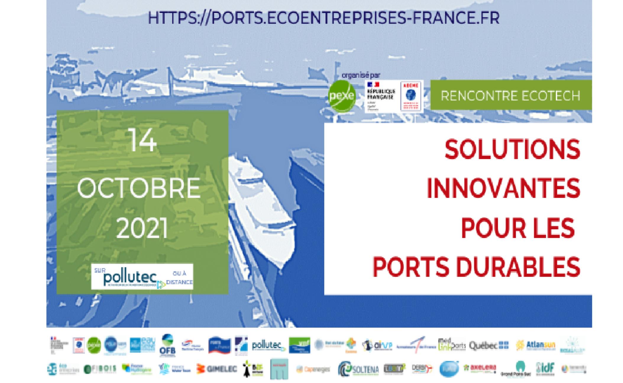 Rencontre Ecotech Ports durables