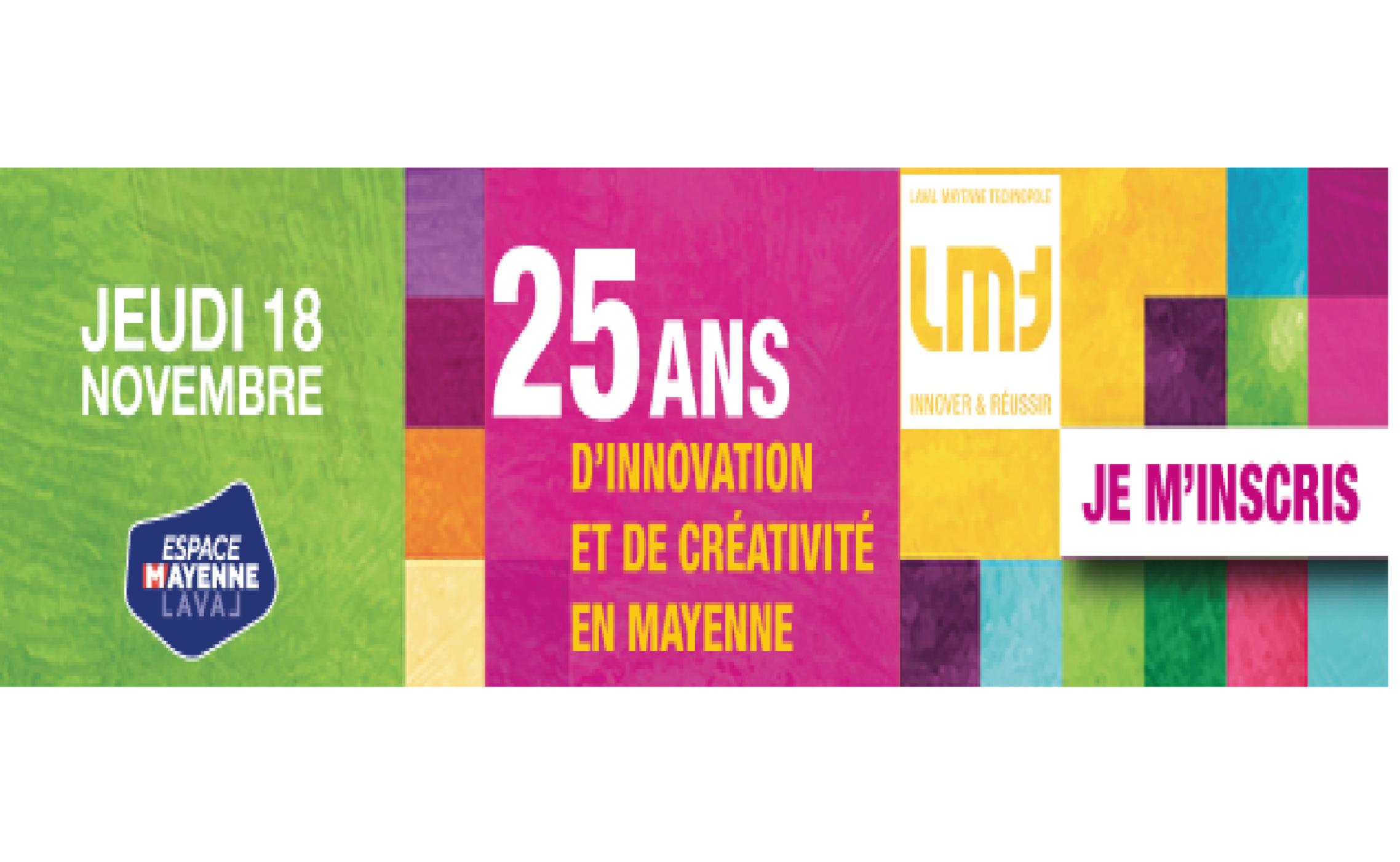 Save the date : Laval Mayenne Technopole fête ses 25 ans !