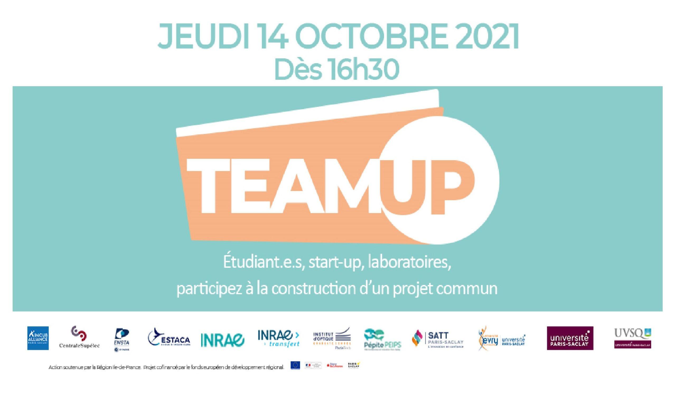 """IncubAlliance organise la 3ème édition de la rencontre """"TEAM UP"""""""